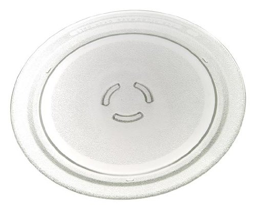 Whirlpool 4393799 Microwave Glass Turntable Plate, 12 Dia. 12 Dia.