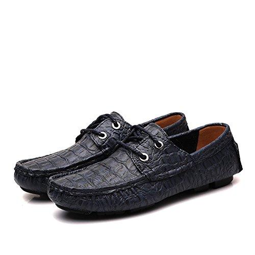 Boat Shoes Pelle in Estive Mocassini Icegrey Eleganti blu Uomo Scarpe wqxnvI0OtC