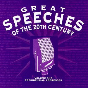 Great Speeches - Presidential Address by Great Speeches Of The 20th Century (1994-11-01) (Great Speeches Of The 20th Century Cd)