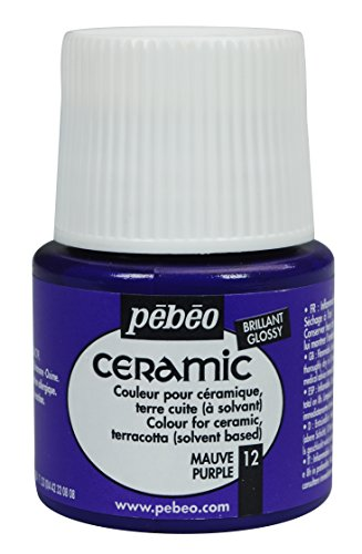 Pebeo Ceramic Enamel Effect Purple