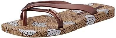 Ipanema Women's GECCO VIII Slippers, Brown, 9 US