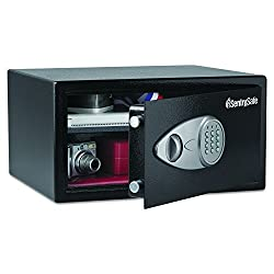 SentrySafe Security Safe, Large Digital Lock Safe, 1.0 Cubic Feet, X105