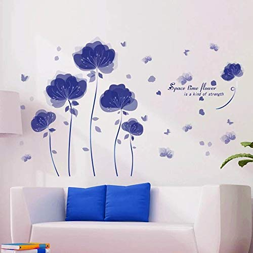 Wall Stickers Wall Stickers & Murals Home Décor Home Décor Accents for Living Room Flower Wall Decals Home Improvement…