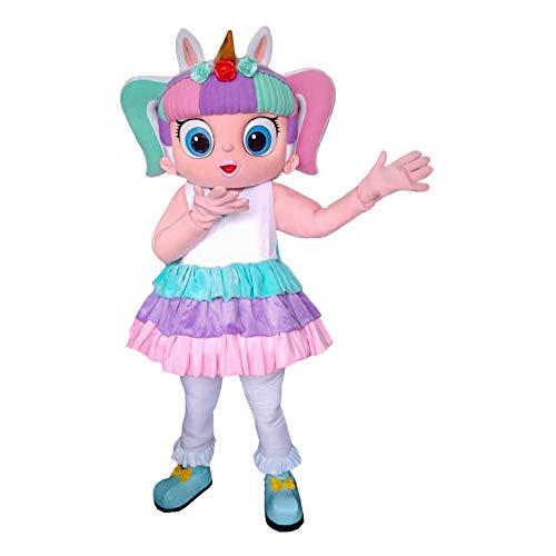 Unicorn Character Doll Surprise Mascot Costume Cosplay White]()