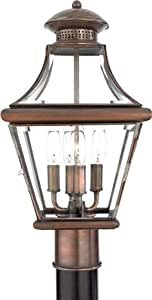 Aurora Lighting Aged Copper Finished Outdoor Light