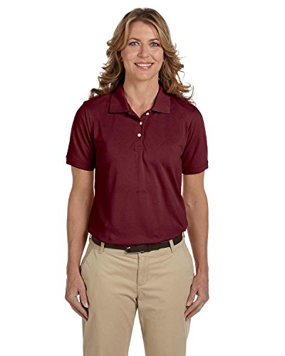 Harriton Ladies' 5 oz. Easy Blend Polo>XL WINE M265W