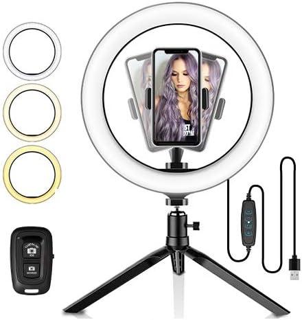 Ranikeer Selfie Ringleuchte Mit Stativ Led Tisch Kamera