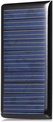 ZHOUYANJUN LDTR-WG0096 / B 5 V 60 mA 68 x 37 mm polykristallines Silizium-Solarpanel - SCHWARZ