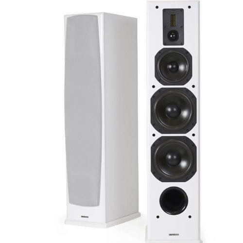 DYNAVOICE Definition DF-8 wit: paar 3-weg luidsprekers met 8 inch Woofer, Ref. DF-8, wit.