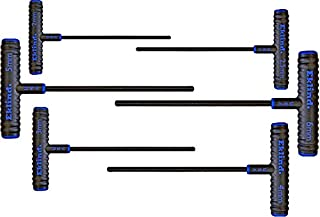 product image for EKLIND 64906 Power-T Handle Hex Key allen wrench - 6pc set Metric MM sizes 2-6 (9In shaft)