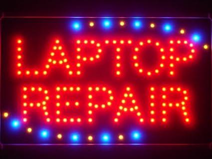 ADV PRO led035-r portátil reparación LED luz de neón Sign ...