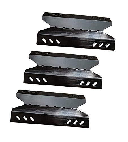 (Votenli P9643A (3-Pack) Porcelain Steel Heat Plate for BBQ Pro BQ05041-28, BQ51009, Kenmore, Outdoor Gourmet, SAMS Club Gas Grill Models)
