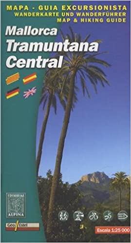 Mallorca: Tramuntana Central GR11 Map and Hiking Guide: