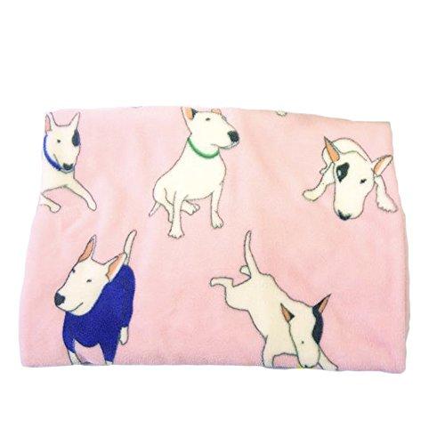 ALLISA-ndro-Couverture-avec-motifs-Bull-Terrier-chauds-et-doux-pour-animal-comme-chien-ou-chat-en-corail-non-tiss-de-75-x-100-cm-2-couleurs-au-choix-Rose-Bleu