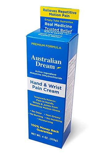 Australian Dream Hand & Wrist Cream Tube, 4 Ounce