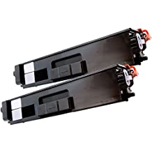 2 Inkfirst® Black Toner Cartridge TN336BK (TN-336 BK) Compatible Remanufactured for Brother TN336 Black