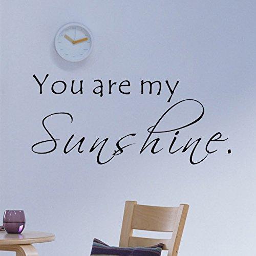 sunshine wall decal - 6