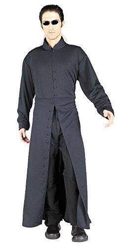 Adult-Costume Matrix Neo Halloween Costume - Most Adults (The Matrix Neo Costume)