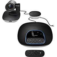Logitech Group - Sistema de videoconferencia (1080p, H.264, ZEISS® Lens, Skype for Business(TM) Certified, Optimized for Microsoft® Lync, Cisco Jabber® and WebEx®, Auto)