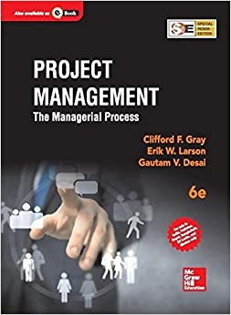 Project Management : The Managerial Process (English) 6th Edition