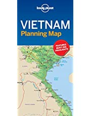 Lonely Planet Vietnam Planning Map 1 1st Ed.