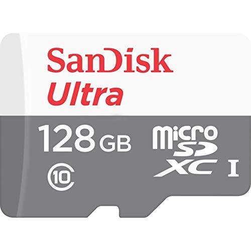 - SanDisk Ultra SDSQUNS-128G-GN6MN 128GB 80MB/s UHS-I Class 10 microSDXC Card