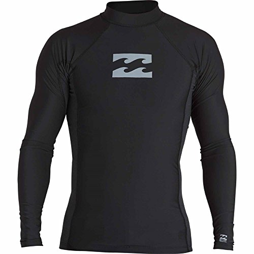 빌라봉 남성 긴팔 래쉬가드 Billabong Mens All Day Wave Performance Fit Long Sleeve