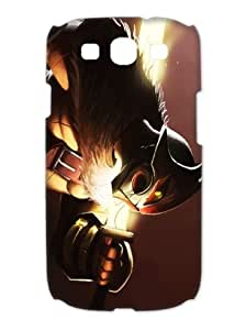 """designer phone cases/covers for Samsung Galaxy S3 I9300 (3D) plastic material with hot game """"Dota"""" pattern-113"""