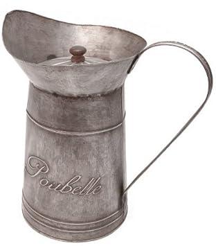 Vintage - Papelera para baño con recipiente de cristal: Amazon.es ...