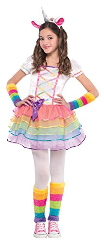 Rainbow Unicorn Costume - (Girl Costumes Leg)