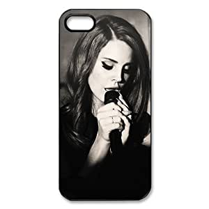 Famous Singer Lana Del Rey iPhone 5 Case Hard Plastic Protective iPhone 5 Case hjbrhga1544