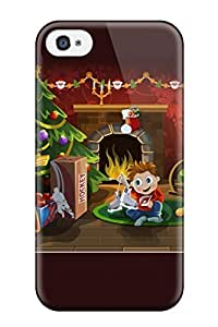 CaseyKBrown Iphone 4/4s Well-designed Hard Case Cover Christmas Surprise Protector