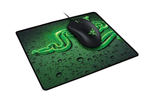Razer Goliathus Speed (Medium) Gaming Mouse Pad: Smooth Gaming Mat - Anti-Slip Rubber Base - Portable Cloth Design - Anti-Fraying Stitched Frame - Terra
