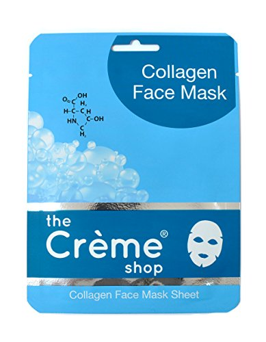 Cucumber Face Sheet Mask - 1 Count by The Creme Shop (pack of 6) Pevonia Botanica Facial Cleanser Combination To Oily Skin (salon Size) 1000ml/34oz