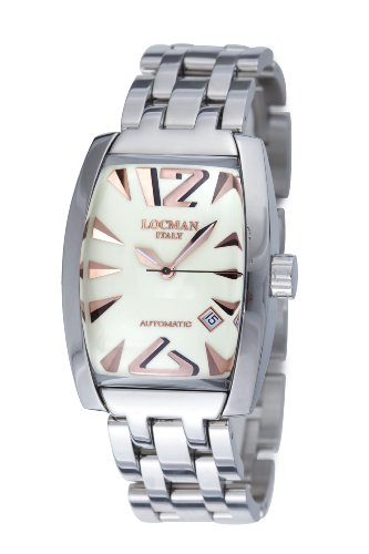 Locman Men's 150BAVGN Panorama Collection Steel Watch