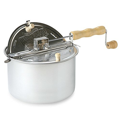 Wabash Valley Farms  The Original Whirley Pop  Stovetop Popcorn Popper  Durable And Safe To Use