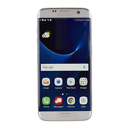 Samsung Galaxy S7 Edge SM-G935V 32GB Silver for Verizon (Renewed)