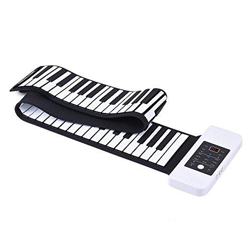Portable 88-Key Roll-up Flexible Electronic Music Keyboard P