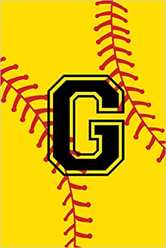 G: Nitial Monogram Softball Journal Notebook - Softball College Ruled Writing And Notes Journal - Softball Monogram Journals. - Descarga gratuita de Ebook Inglese