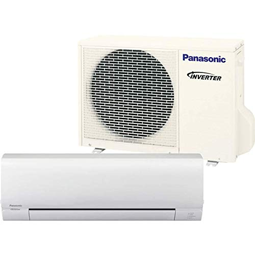 Panasonic 18,000 BTU Ductless Mini Split Air Conditioning and Heating System, Indoor and Outdoor Set with Wireless Remote (208/230V) (Panasonic Mini Split)