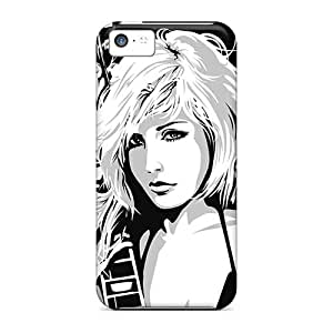 MarieFrancePitre Iphone 5c Shockproof Hard Phone Case Support Personal Customs Realistic Kid Rock Band Pattern [ClF5034CLiy]