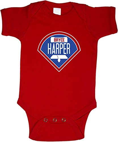 RED Philadelphia Bryce Logo Baby 1 Piece