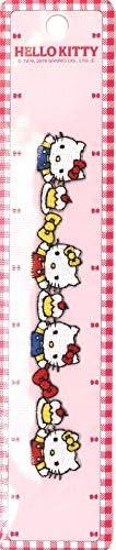 キャラクター 長~い ワッペン (アップリケ) キティ (ハローキティ キティちゃん サンリオ)