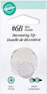 Wilton Decorating Tip, No.6B Star