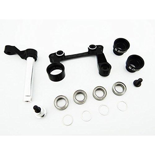 Hot Racing TCC4801 Aluminum Steering Bellcrank Set with Bearings - Tamiya CC01