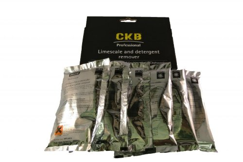 CKB Ltd Pack Of 6 - Universal Limescale And Detergent Remover Suitable For All Washing Machines & Dishwashers Descaler Cleaner