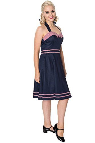 Days Navy Dancing J'ADORE navy DRESS Kleid 5334 Banned by anwqd8wCxz