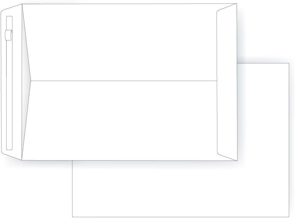 Universal Peel-Off Catalog Envelope 40102 9 x 12