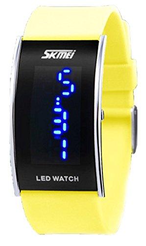 fashion-yellow-led-digital-wrist-watches