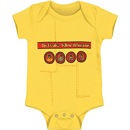 Bravado Girls T-shirt (Bravado The Beatles - Yellow Sub Infant Bodysuit Yellow 12)